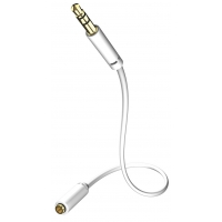 INAKUSTIK Star MP3 Audio Cable 5.0 m (M-F) 3.5 mm  Phone plug (m)-3.5 Phone plug (F) 00310505