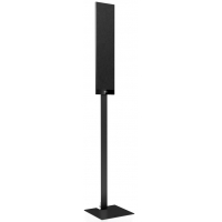 KEF T FLOORSTAND BLACK pair